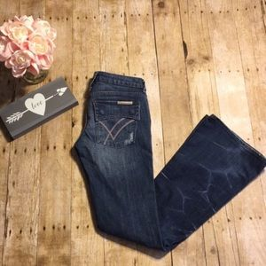 William Rast Belle Flare Jeans Size 27